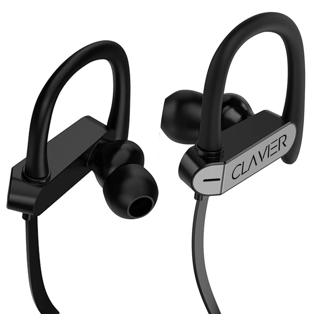 Clavier Neo in-Ear Headphones/Earphones with Stereo Mic for All Smartphones, Black (NEOGREY)