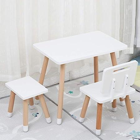 Mesa de estudio de los niños Tabla heces del niño mesas sillas jardín de la infancia