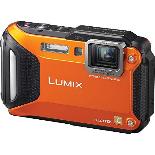 Panasonic Lumix DMC-TS5 Waterproof WiFi GPS Orange Digital Camera