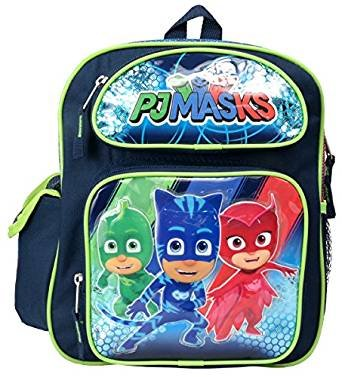 "PJ MASKS Gekko Catboy Owlette 12"" Toddler Mini Backpack"