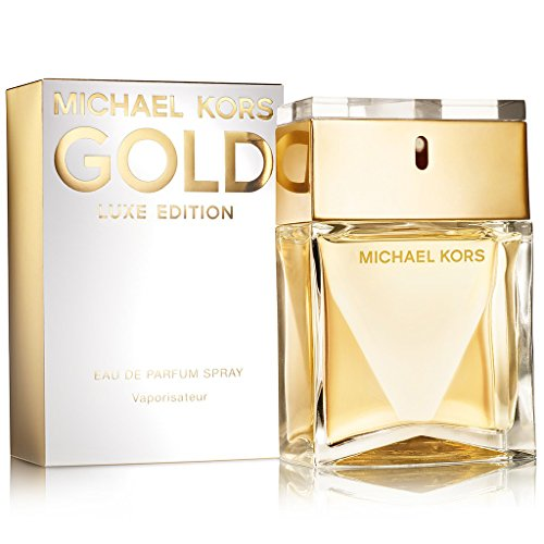 Michael Kors Gold Luxe Edition Eau de Parfum Spray for Women, 3.4 Ounce (Usa Michael Kors)