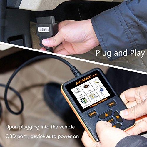 Autophix ES710 Honda Acura Scanner Diagnostic Scan Tool SRS ABS
