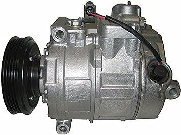 BEHR HELLA SERVICE 8FK 351 322-771 Compresor, aire acondicionado: Amazon.es: Coche y moto