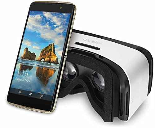 Alcatel IDOL 4S Windows 10 OS 5.5 Inch Unlocked Smartphone with VR Goggles