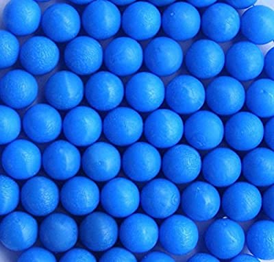 50 PCS .68 inches Cal Reusable Rubber Training Balls Paintballs Blue red Yellow Green Color available
