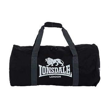 Lonsdale Bourne Sport Duffle Bag Sac de sport taille unique noir R12DpAfhCP