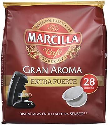 Marcilla Café Gran Aroma Extra Fuerte - 140 Monodosis compatibles ...