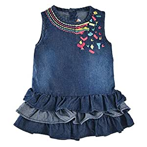 Little Kangaroos Dress For Girls