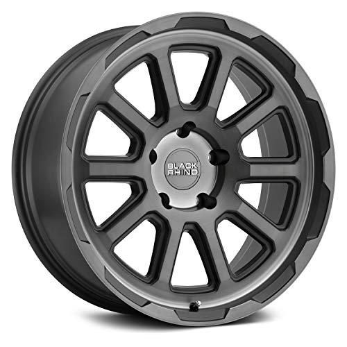 - Black Rhino Chase Custom Wheel - Brushed Gunmetal - 17
