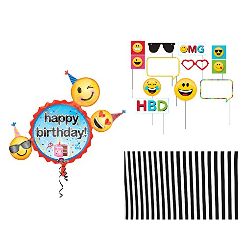Emoji Party Supplies Photo Booth Prop -