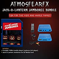 Atmosfearfx Jack-0-Lantern SD Card Media Player. Replaces Bulky DVD Player