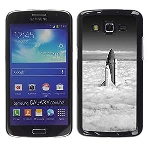 Exotic-Star ( Rocket ) Fundas Cover Cubre Hard Case Cover para Samsung Galaxy Grand 2 II / SM-G7102 / SM-G7105