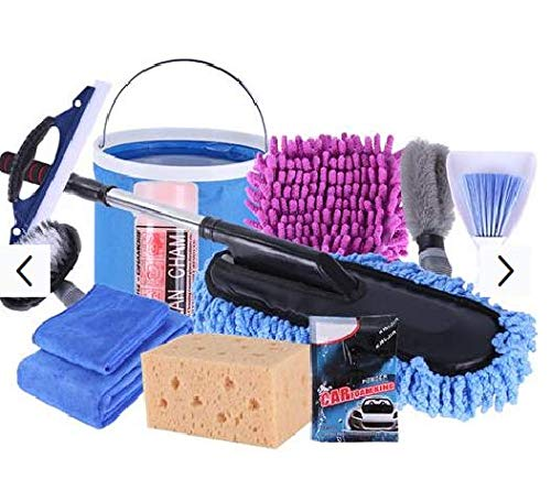 Car Cleaning Supplies >> Amazon Com 12 Pieces Set Car Wash Washing Kit Combination
