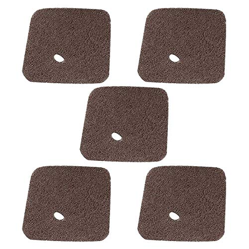 Poweka Air Filter Fit For Stihl FS38 FS45 FS46 FS55 HS45 FC55 Trimmer Edger Pruner Replaces # 4140 124 2800 (5 ()