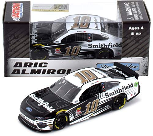Lionel Racing Aric Almirola #10 Smithfield 2019 Ford Mustang NASCAR Diecast 1:64 Scale