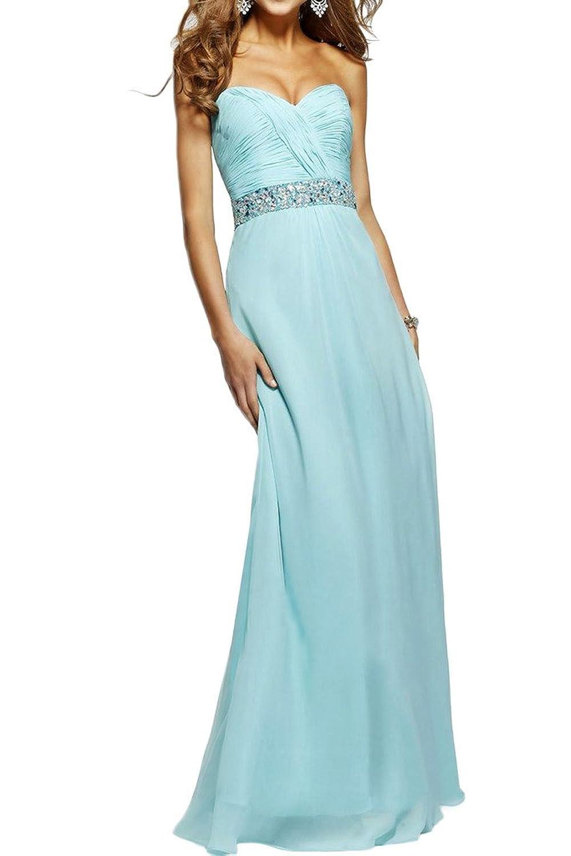 Prom Style Bandeau Herzfom Chiffon Abendkleider Brautjunhfernkleider ...