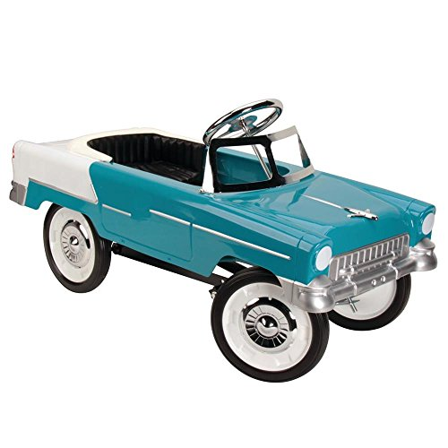 - 1955 Blue & White Fits Chevy Pedal Car