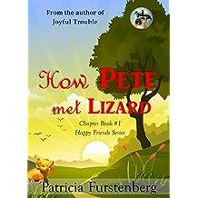 How Pete met Lizard, Chapter Book #1: Happy Friends, diversity stories children's series