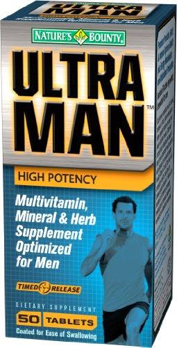 Nature's Bounty Ultra Man High