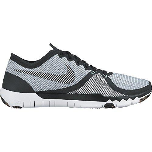 Nike Entraîneur Des Hommes Libres 3.0 V4 À Peine Gris / Blanc