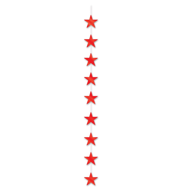 Black 6-Feet 6-Inch Beistle 54113-BK Star Stringer