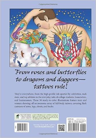 cheap body art tattoo designs coloring book dover design coloring books - Body Art Tattoo Designs Coloring Book