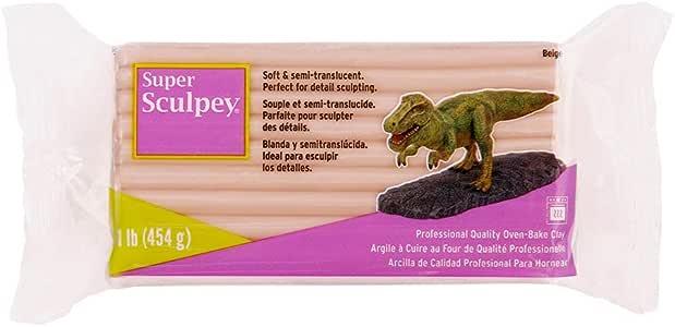 Sculpey Super Sculpturing Compound 1 lb. box, Beige
