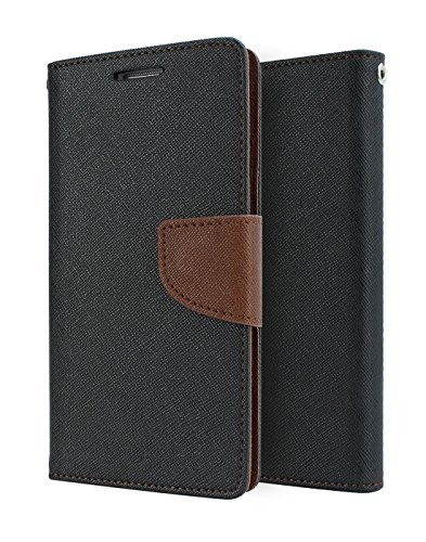 SDO Luxury Mercury Diary Wallet Style Flip Cover Case for Samsung Galaxy J5 2016 Edition    Brown