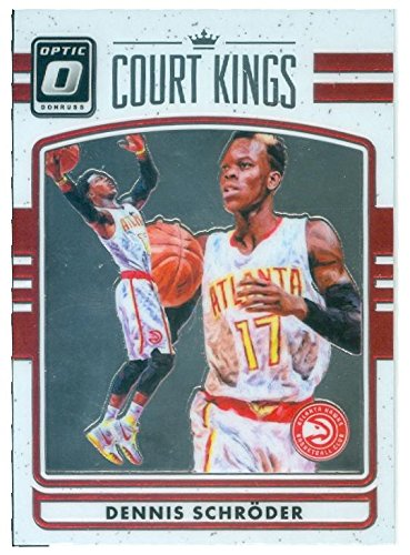 Dennis Schroder basketball card (Atlanta Hawks) 2016 Donruss Court Kings   34 Optic Chrome at Amazon s Sports Collectibles Store 8c4c63941