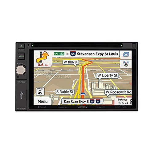 Jensen VX7020 6.2'' LCD Multimedia Double Din Receiver (Certified Refurbished) by Jensen (Image #2)
