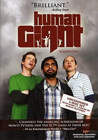 Amazon Human Giant Season 1 Aziz Ansari Rob Huebel Paul