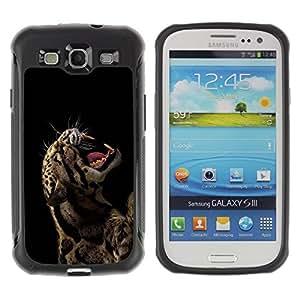 Suave TPU GEL Carcasa Funda Silicona Blando Estuche Caso de protección (para) Samsung Galaxy S3 III I9300 / CECELL Phone case / / Rawr Roar Leopard Animal Fierce /