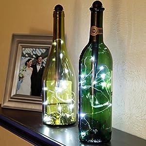Light My Bottle Mini Fairy String Lighting Accessory Stick Bright White & Amazon.com: Light My Bottle Mini Fairy String Lighting Accessory ... azcodes.com