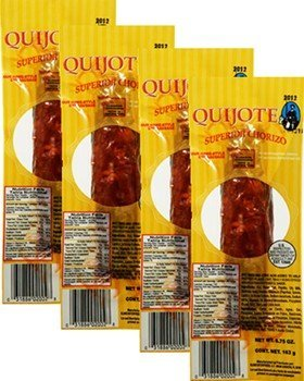 Chorizo Superior Quijote. 5.75 oz. 4 Pack by Quijote