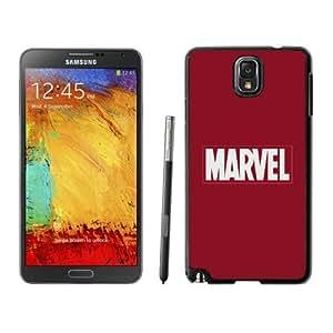 NEW Unique Custom Designed Samsung Galaxy Note 3 N900A N900V N900P N900T Phone Case With Marvel Comics Simple Logo_Black Phone Case