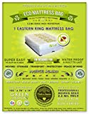 1 Eastern King Size Mattress Bag. Fits All Pillow Tops and Box Springs. Ideal for Moving, Storage and Protecting Your Mattress. Heavy Duty Professional Grade. Easy to Slip on and Seal. Sleep with Peace of Mind and Don't Let the Bed Bugs Bite. Protect Your Investment with Our American Made, World Famous, 5 Star Rated, Eco Friendly Mattress Protection.
