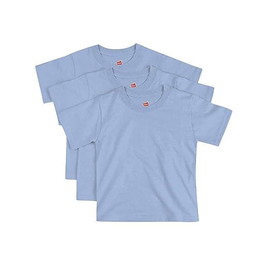 ffe7b7aa1 Amazon.com  Hanes ComfortSoft Toddler Crewneck T-Shirt 3-Pack  Clothing
