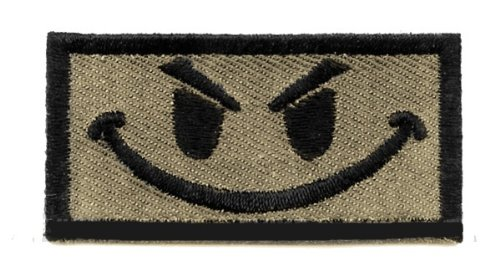 King Arms Funny Patch w/ Velcro - Tan Color