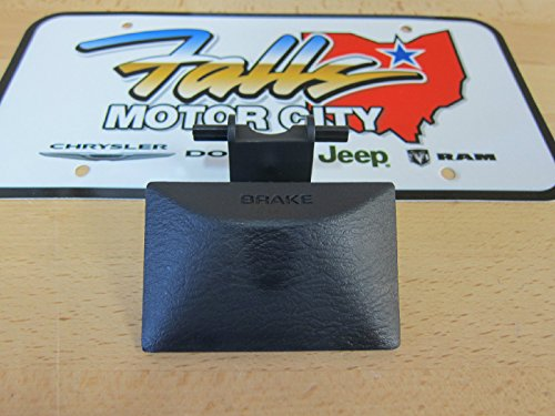 Dodge Ram 1500 2500 Parking Brake Release Handle Dark Slate Gray Mopar