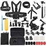 LotFancy 39-in-1 Accessories Kit for Gopro6, Gopro Hero5/4/3/2/1/3+, SJ4000, SJ5000, AKASO, APEMAN, DBPOWER, Xiaomi Yi, Lightdow, Nikon, Sony Sports DV Action Video Cameras and More