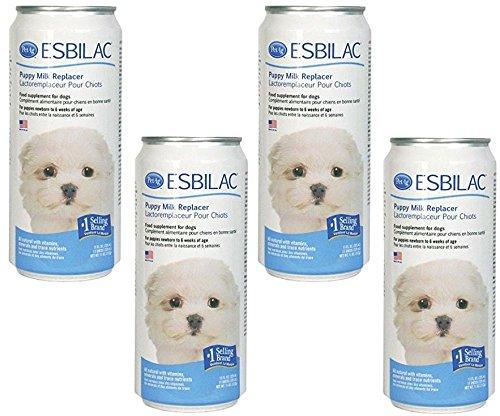 (4 Pack) Esbilac Liquid For Puppies, Milk Replacer - 11 Ounces Each by Esbilac