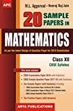 20 Sample Papers in Mathematics Class-XII
