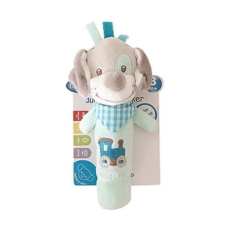 DDG EDMMS perro Traqueteo del bebé de la felpa juguete del ...
