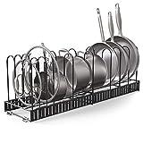 Vdomus Extensible Pot Rack Organizer with 4 DIY