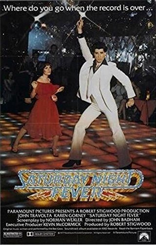 Buyartforless Saturday Night Fever 36x24 Movie Art Print Poster Disco Dance 1970's Comedy Romance John Travolta (Dance Movie Poster)