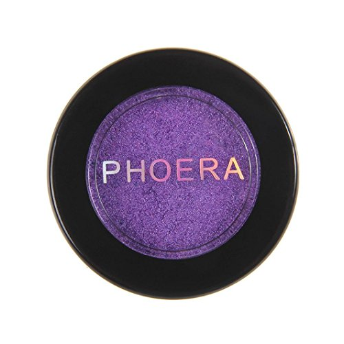 Review HP95(TM) PHOERA Eyeshadow Glitter Shimmering Colors Bright Metallic Eye Makeup Cosmetic (X)