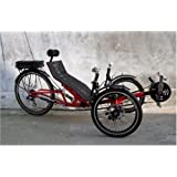 Electric Foldable Recumbent Tricycle, Trike