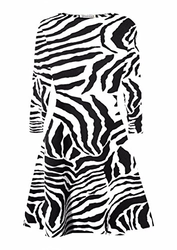 Zebra Print Dress - 2