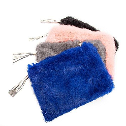 3 Pochette femme moyen bleu pour 3 Flada ZIFwAqxA