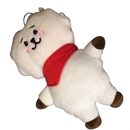 BTS Bangtan llavero de juguete de felpa para niños con ...